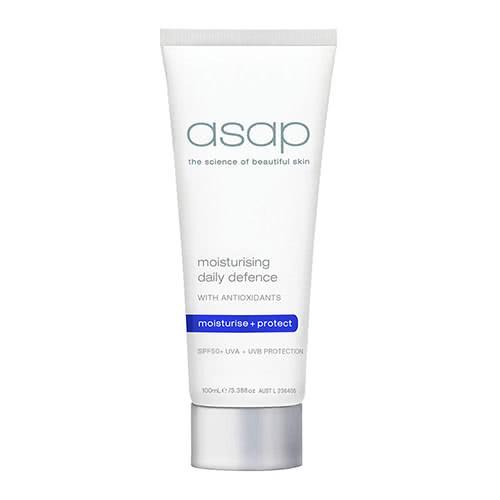 asap moisturising daily defence spf50