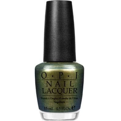 OPI Spiderman Nail Lacquer Collection-Just Spotted the Lizard