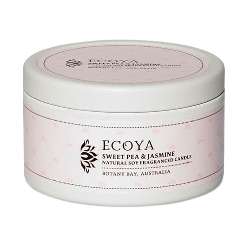 Ecoya Everyday Tin Candle - Sweet Pea & Jasmine by Ecoya