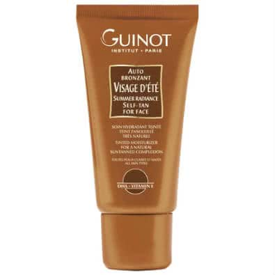 Guinot Self Tan for Face: Visage d'ete Auto Bronzant by Guinot