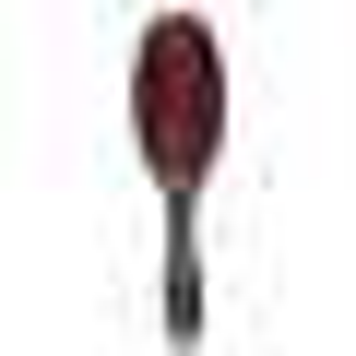 Denman Natural Bristle Single Nylon Quill Medium Grooming Brush