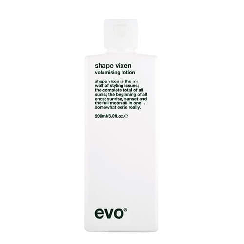 evo shape vixen volumising lotion 200ml by evo