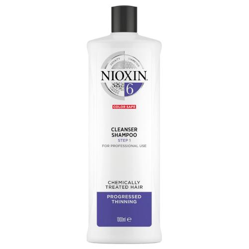 Nioxin 3D System 6 Cleanser Shampoo 1000ml