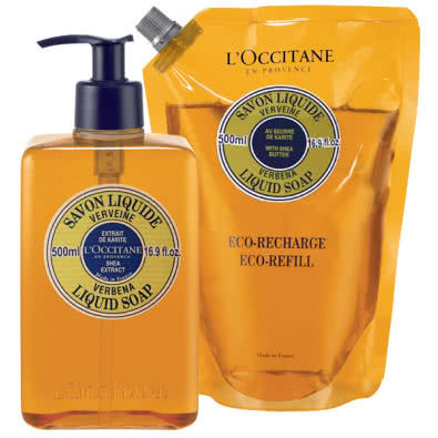 L'Occitane Verbena Liquid Soap Duo by L Occitane