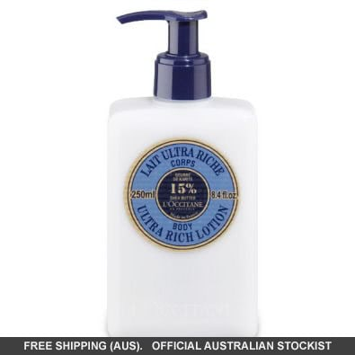L'Occitane Shea Butter Body Lotion 250ml by loccitane