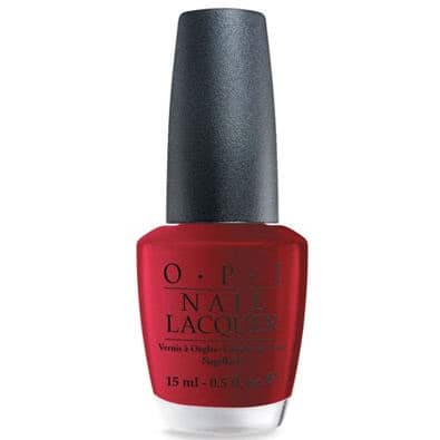 OPI Nail Lacquer - Chicago Collection, Got the Blues for Red by OPI color Got the Blues for Red