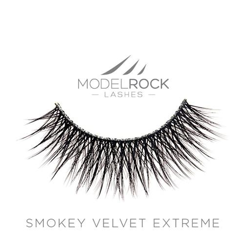 MODELROCK Signature Lashes - Smokey Velvet Extreme Double Layered