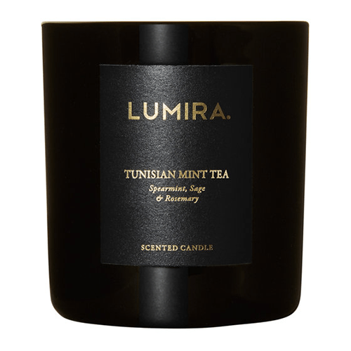 Lumira Glass Candle - Tunisian Mint Tea by Lumira