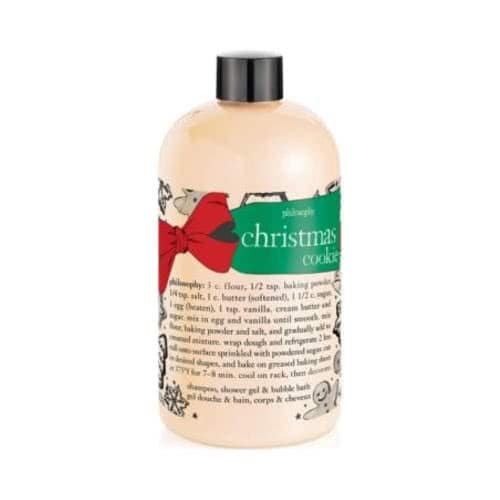 philosophy christmas cookie showergel  by philosophy