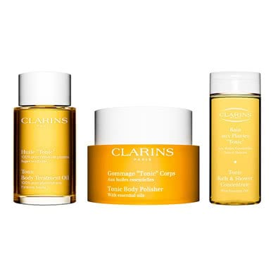 Clarins Feel Good Body Treats Gift Set: Clarins Tonic