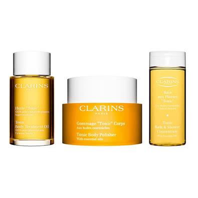 Clarins Feel Good Body Treats Gift Set: Clarins Tonic