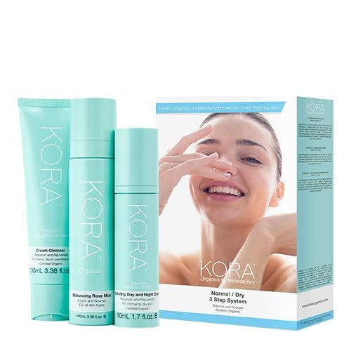KORA Organics - 3 Step System Normal/Dry by KORA Organics