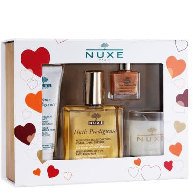 Nuxe Coffrett Prodigieux OR Multi-Purpose Dry Golden Oil Gift Set