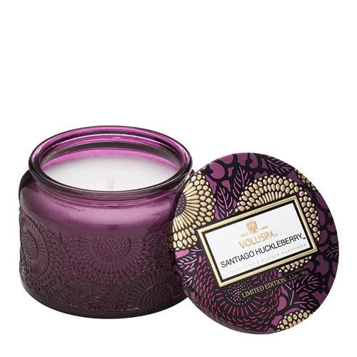 Voluspa Santiago Huckleberry Petite Jar Candle by Voluspa