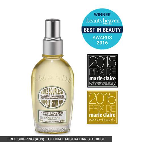 L'Occitane Almond Supple Skin Oil 100ml by loccitane