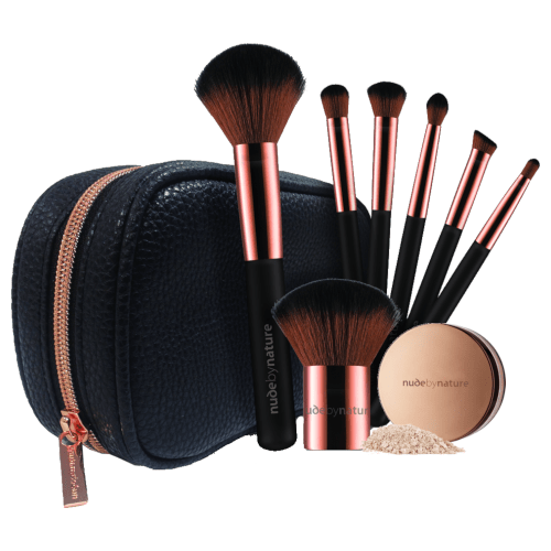 Nude By Nature Limited Edition 7 Piece Essential Brush Collection by Nude By Nature