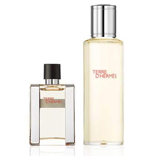 Hermès Terre d'Hermès Parfum Refillable Natural Spray and Refill by Hermes