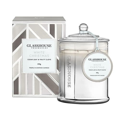 Glasshouse White Christmas 350g by Glasshouse Fragrances
