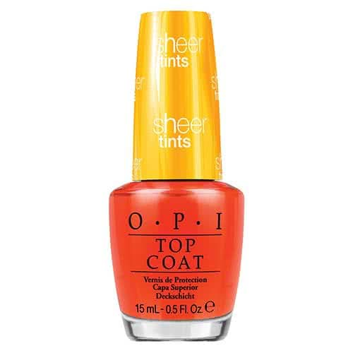 OPI Sheer Tints Nail Polish Collection I'm Never Amberrassed  by OPI
