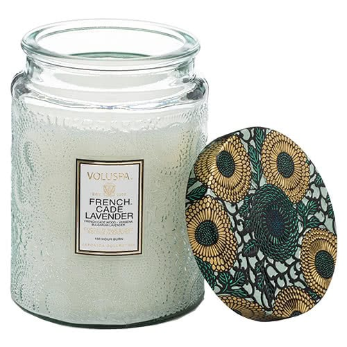 Voluspa French Cade & LavenderJar Candle by Voluspa