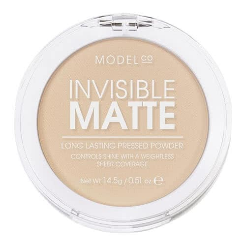 ModelCo Invisible Matte Pressed Powder - Translucent by ModelCo