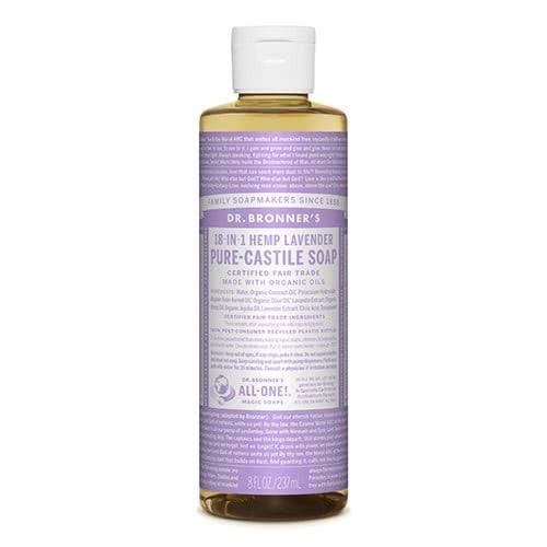 Dr. Bronner Castile Liquid Soap - Lavender 237ml by Dr Bronner-s