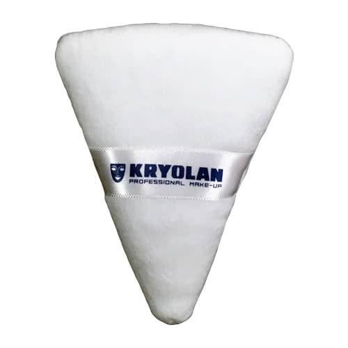 Kryolan Powder Puff - Triangular White by Kryolan Professional Makeup