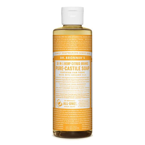 Dr. Bronner Castile Liquid Soap - Citrus 237ml by Dr. Bronner's