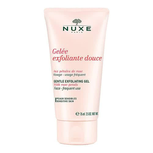 Nuxe Gentle Exfoliating Gel with Rose Petals