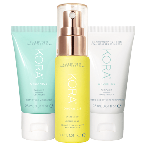 KORA Organics Daily Ritual Kit - Oily/Combination