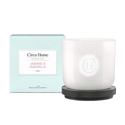 Circa Home Jasmine & Magnolia Classic Candle 260g by Circa Home