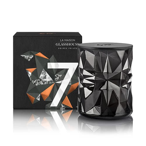 La Maison Glasshouse Candle - No.7 Soirée Privée Limited Edition by Glasshouse Fragrances
