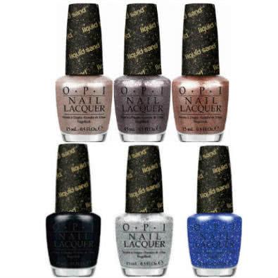 OPI Liquid Sand Nail Polish Collection
