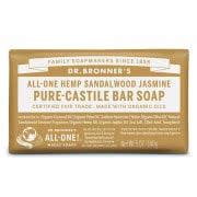 Dr. Bronner Castile Bar Soap – Sandalwood & Jasmine by Dr. Bronner's