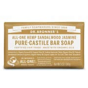 Dr. Bronner Castile Bar Soap - Sandalwood & Jasmine