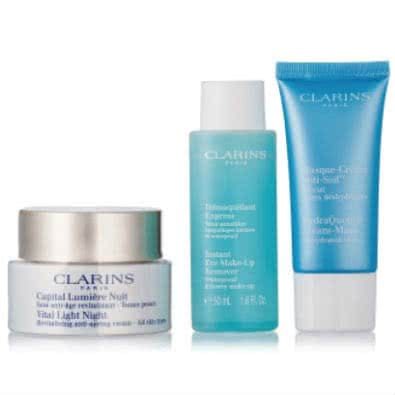 Clarins Sleep Tight Night Time Trio - Vital Light  by Clarins