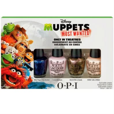 OPI Muppets Most Wanted: Mini Nail Polish Quartet