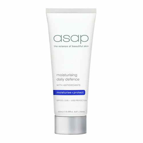 asap moisturising daily defence spf 50+ 100ml