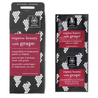 APIVITA Express Beauty with Grape Mask by APIVITA