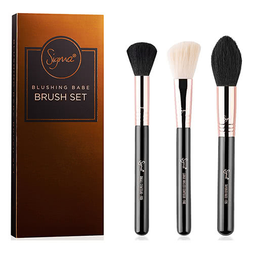 Sigma Blushing Babe Brush Set by Sigma Beauty
