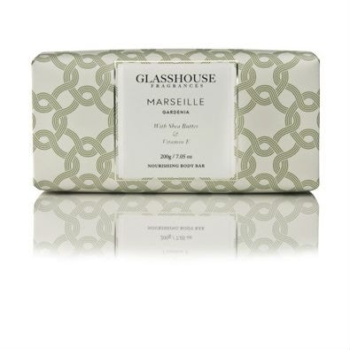 Glasshouse Marseille Nourishing Body Bar - Gardenia  by Glasshouse Fragrances