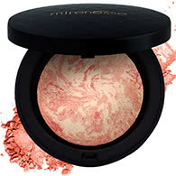 Mirenesse Marble Mineral Blush + Highlighter - Carrara Coral by Mirenesse color Carrara Coral