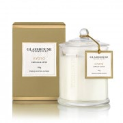 Glasshouse Kyoto Candle - Camellia & Lotus 350g by Glasshouse Fragrances