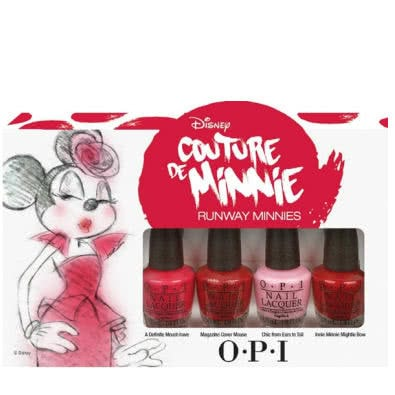 OPI Couture De Minnie Mini Nail Polish Collection