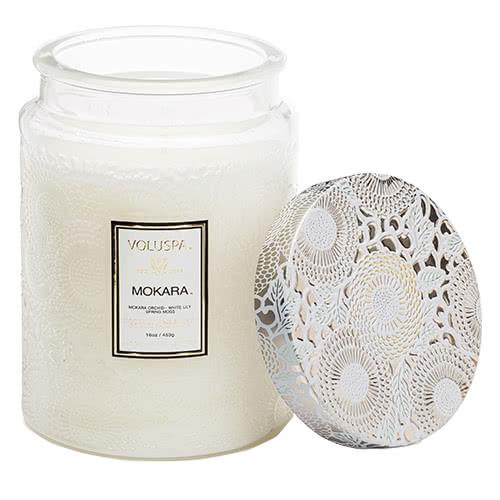 Voluspa  Mokara Jar Candle by Voluspa