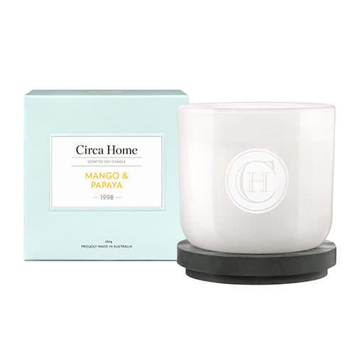 Circa Home Mango & Papaya Classic Candle 260g by Circa Home