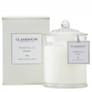 Glasshouse Marseille Candle - Gardenia 350g