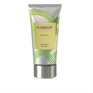 Adore Beauty Member Rewards Exclusive: Glasshouse Montego Bay Travel Hand Creme - Coconut & Lime  by Glasshouse Fragrances