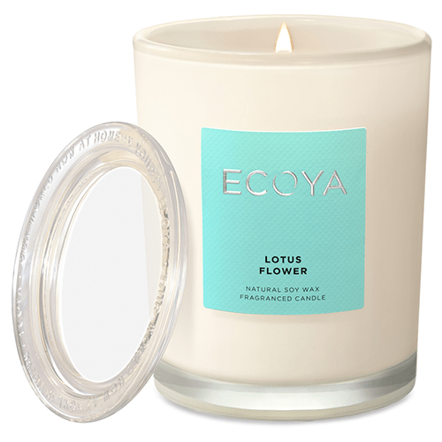 Ecoya Metro Jar Fragranced Candle - Lotus Flower by Ecoya