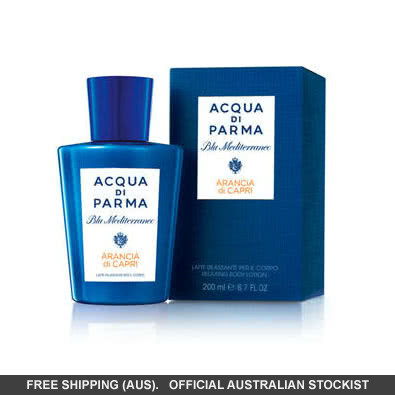 Acqua di Parma Blu Mediterraneo: Body Lotion 5mL - Gift With Purchase. Conditions Apply - Arancia di Capri